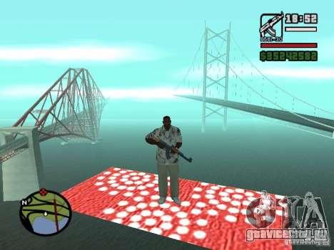 Ковер-Самолет для GTA San Andreas третий скриншот