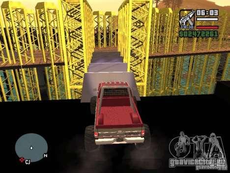 Monster tracks v1.0 для GTA San Andreas восьмой скриншот