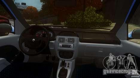 Renault Clio Tuning для GTA 4 вид справа