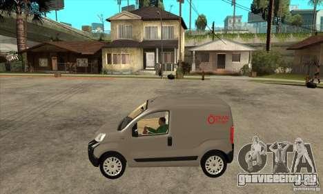 Citroen Nemo 2010 для GTA San Andreas вид слева