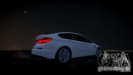 BMW GT F07 2012 GranTurismo для GTA 4 вид сзади слева