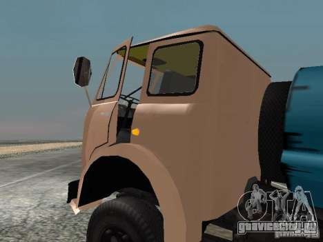 МАЗ 503 для GTA San Andreas вид слева
