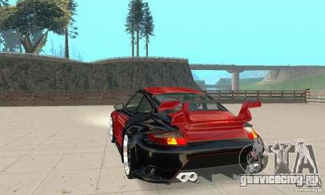 Porsche 911 GT2 NFS Undercover для GTA San Andreas вид слева