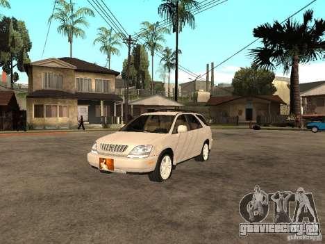 Lexus RX 300 для GTA San Andreas