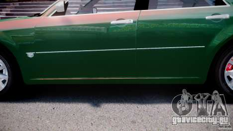 Chrysler 300C SRT8 Tuning для GTA 4 вид снизу
