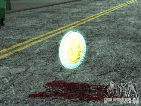 Евро-монетки для GTA San Andreas