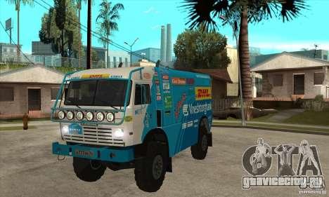 КамАЗ 4911 Rally МАСТЕР для GTA San Andreas