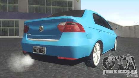 Volkswagen Voyage G6 2013 для GTA San Andreas вид слева