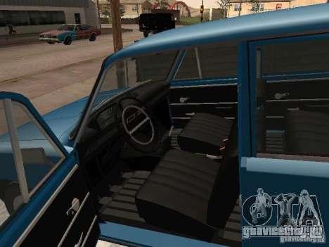 ВАЗ 21011 для GTA San Andreas вид сзади