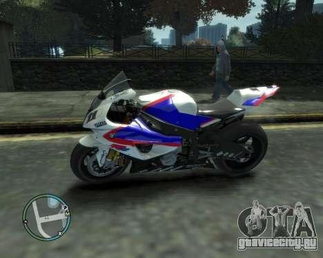 BMW S1000RR для GTA 4