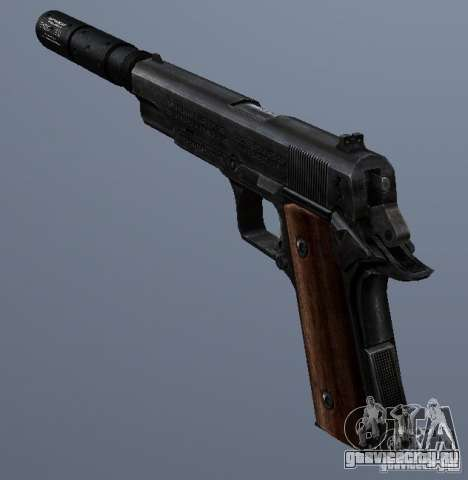 SilencedM1911 для GTA San Andreas второй скриншот