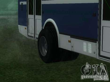 ЛиАЗ 5256-26 для GTA San Andreas вид изнутри