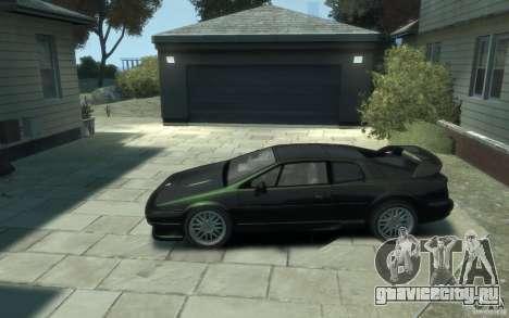 Lotus Esprit V8 для GTA 4 вид слева