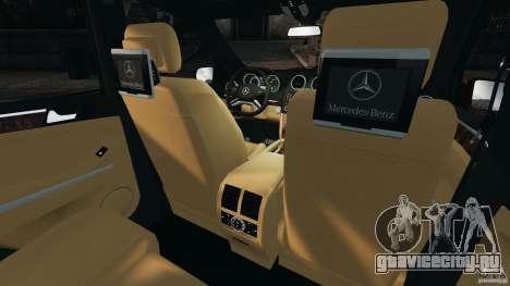 Mercedes-Benz ML63 (AMG) 2009 для GTA 4 вид сбоку