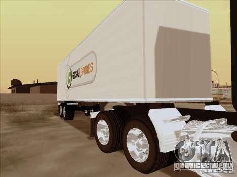 Peterbilt 352 для GTA San Andreas вид сзади