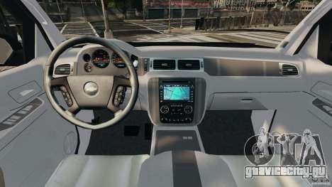 Chevrolet Avalanche 2007 [ELS] для GTA 4 вид сзади