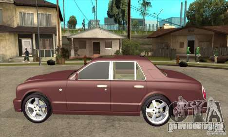 Bentley Arnage GT для GTA San Andreas вид слева