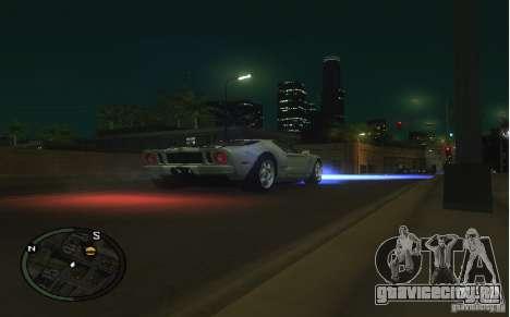 Xenon v4 для GTA San Andreas второй скриншот