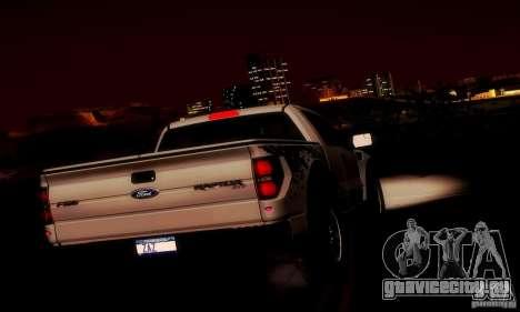 Ford F-150 SVT Raptor V1.0 для GTA San Andreas салон