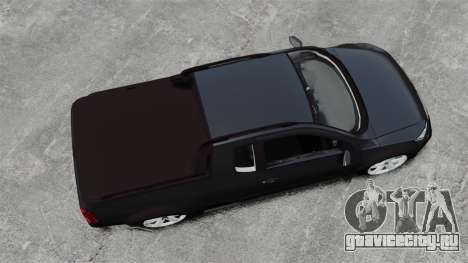 Volkswagen Saveiro Cross Edit для GTA 4 вид справа