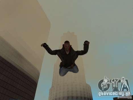James Heller из Prototype 2 для GTA San Andreas пятый скриншот