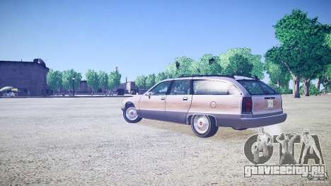 Chevrolet Caprice Civil 1992 v1.0 для GTA 4 вид слева