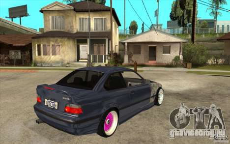 BMW E36 M3 Street Drift Edition для GTA San Andreas вид справа