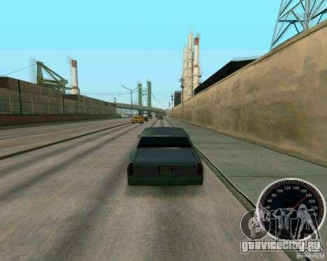 Спидометр для GTA San Andreas третий скриншот