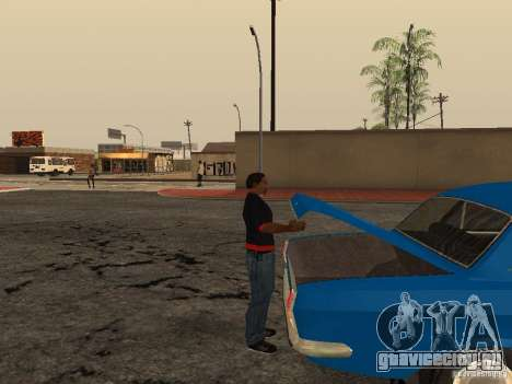 Открыть багажник и капот вручную для GTA San Andreas четвёртый скриншот