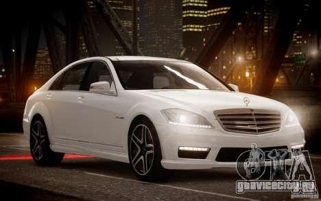 Mercedes-Benz S65 AMG 2012 v2.0 для GTA 4 вид слева
