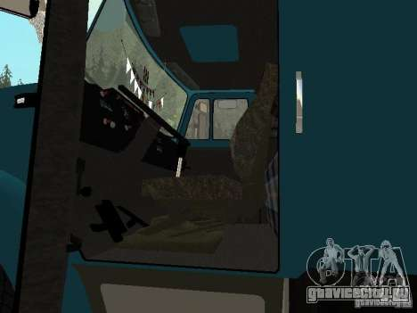 ЗиЛ 133 для GTA San Andreas вид изнутри