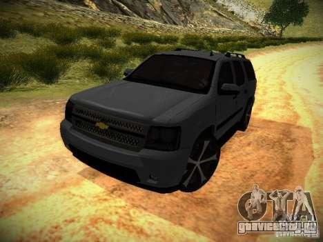 Chevrolet Tahoe HD Rimz для GTA San Andreas вид сзади слева