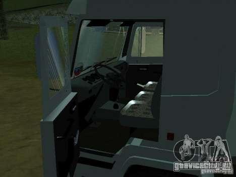 МАЗ 5440 для GTA San Andreas вид сзади