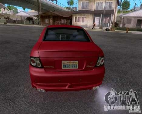 Vauxhall Monaco VX-R для GTA San Andreas