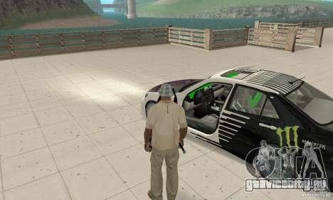 Lexus IS300 Drift Style для GTA San Andreas вид сзади