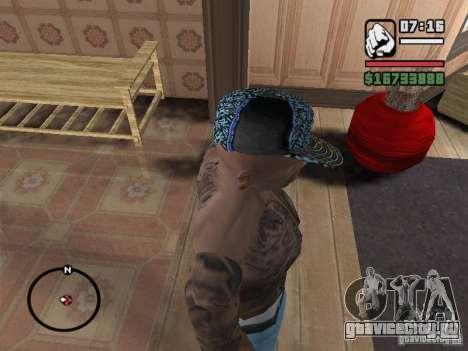 Кепка New York для GTA San Andreas третий скриншот