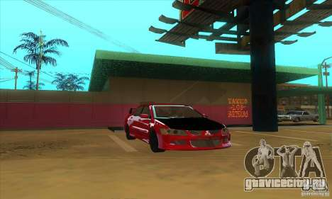 Mitsubishi Lancer Evolution IX Carbon V1.0 для GTA San Andreas