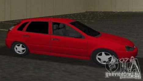 ВАЗ 1119 Калина для GTA Vice City вид слева