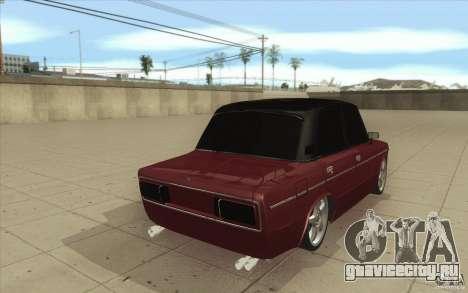 ВАЗ-2106 Lada для GTA San Andreas вид сбоку