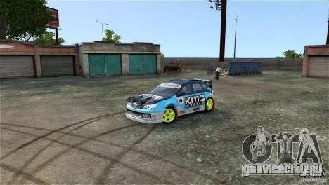 Subaru Impreza WRX STI Rallycross KMC Wheels для GTA 4