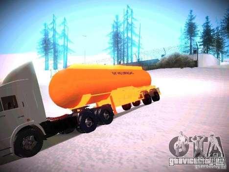 Цистерна для GTA San Andreas