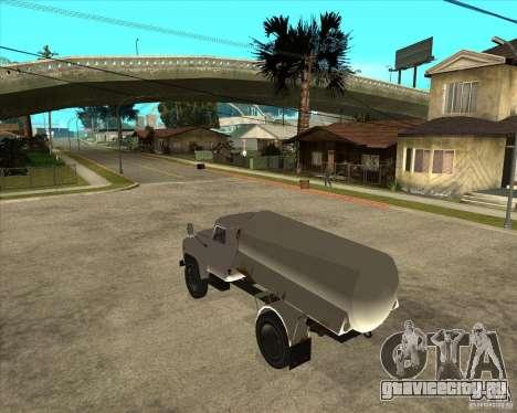 ГАЗ-52 Бензовоз для GTA San Andreas вид слева
