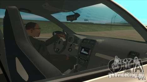 Volkswagen Golf MK6 Hybrid GTI JDM для GTA San Andreas вид изнутри