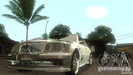 Mercedes-Benz E500 VIP Class для GTA San Andreas вид сзади