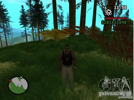 Real Grass v1.0 для GTA San Andreas второй скриншот