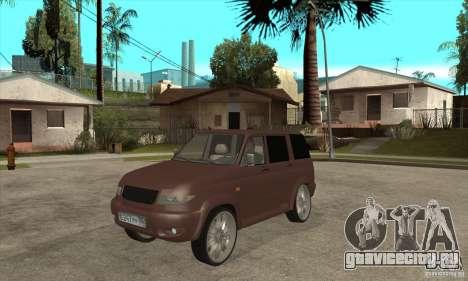 УАЗ Patriot для GTA San Andreas вид слева