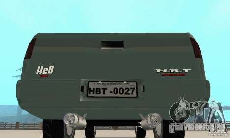 Chevrolet SS10 1994-1995 для GTA San Andreas вид сзади