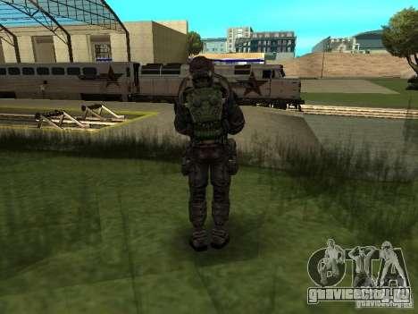 Долговец в костюме для GTA San Andreas второй скриншот