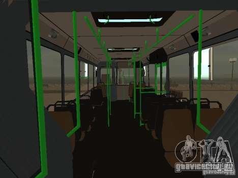 ЛиАЗ 6212 для GTA San Andreas вид сбоку