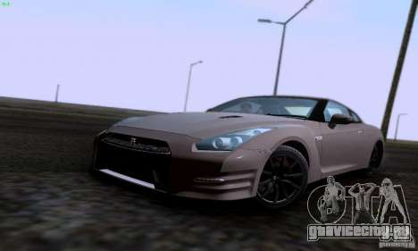 Nissan GTR R35 Tuneable для GTA San Andreas